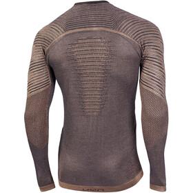 UYN Cashmere Silky UW LS Roundneck Shirt Men celebrity gold